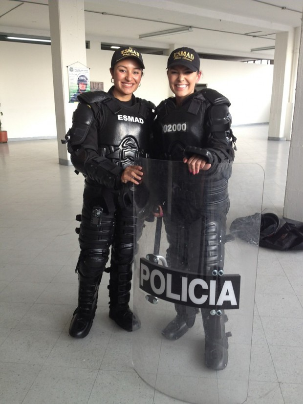 Colombian National Police (ESMAD)