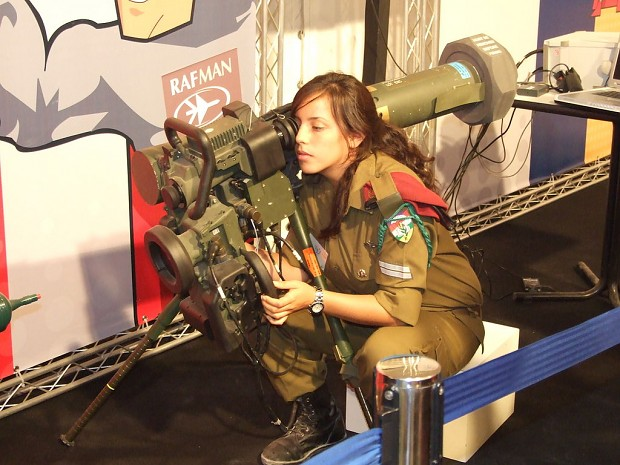 Female IDF Soldier