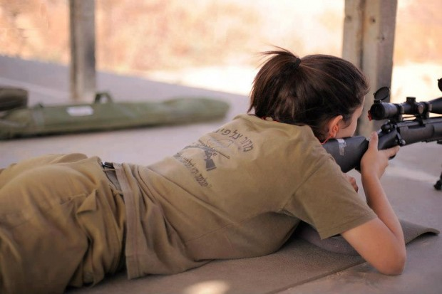IDF Female Sniper