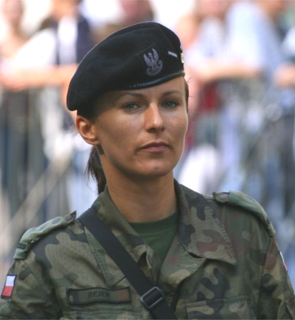 Polish Female Soldier