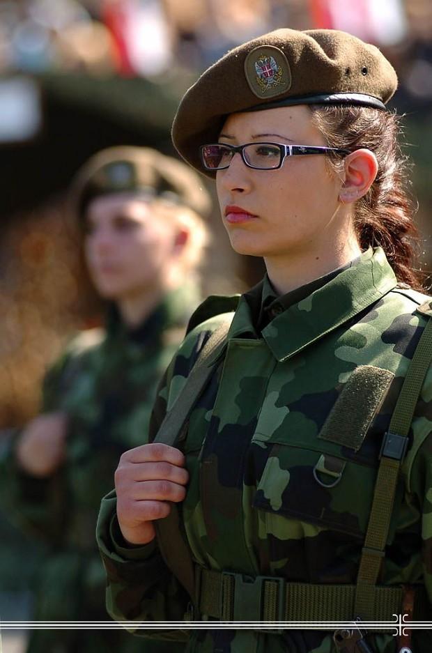 Serbian Female Soldier image Females In Uniform Lovers