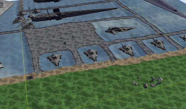 My entry for the mapping contest: Bestine sea port