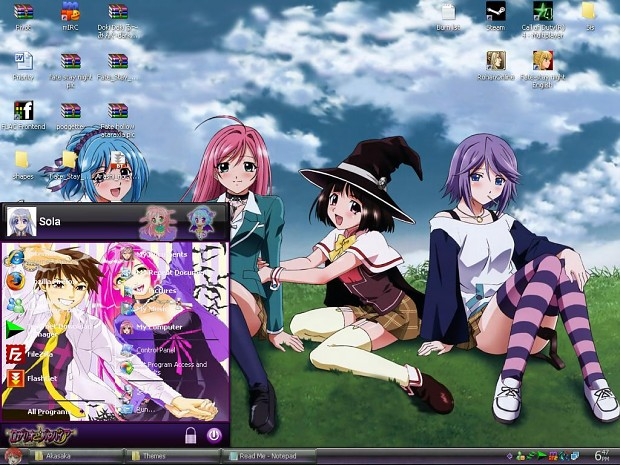Rosario Vampire_windows xp
