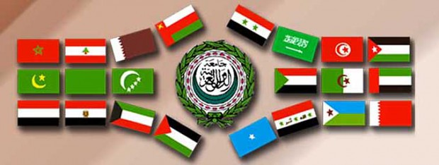 Arab flags