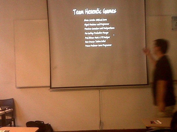 Barcamp Santiago and First showing up of HeXen 2D