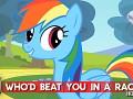 Rainbow Dash: Hot Minute