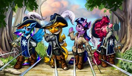 The Pony Musketeers