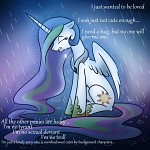 Celestia Just Wants To Be Loved