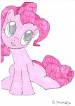 Pinkie Pie Drawing
