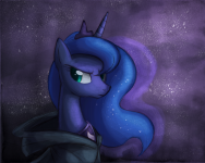 Princess Luna With Cloak