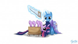Twilight And Trixie - Magic Trick