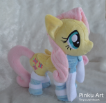 Winter Fluttershy Plush