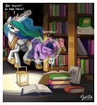 Young Twilight Tries Dark Magic