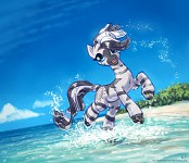 Zecora At The Beach