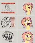Fluttershy is a meme too...