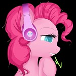 Pinkie's Headphone