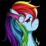 Rainbow's Headphone