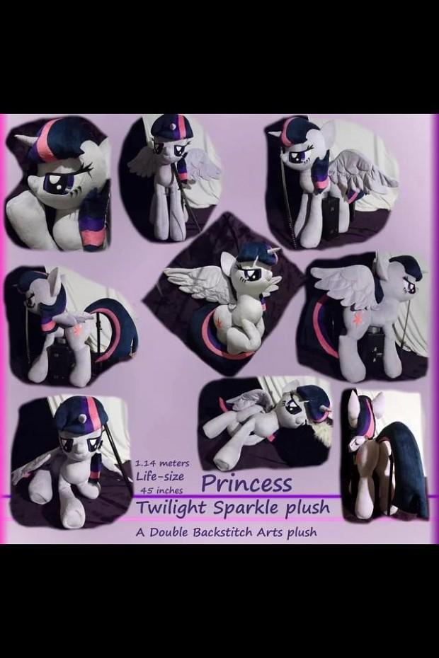 Life-Size Twilight Plushie?