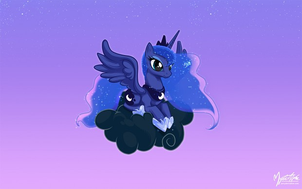 Luna on a Cloud