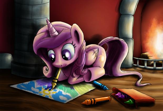 Celestia Crayons
