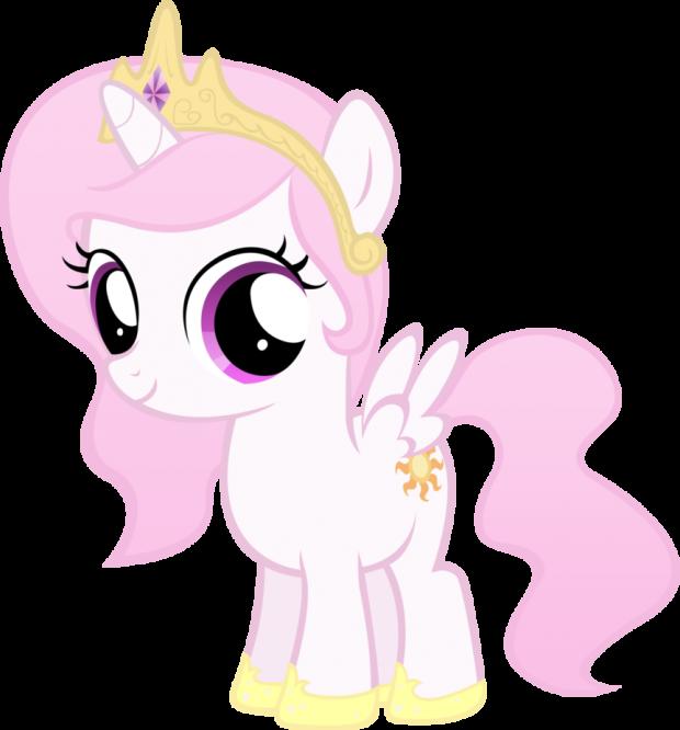 Filly Celestia (Pink)