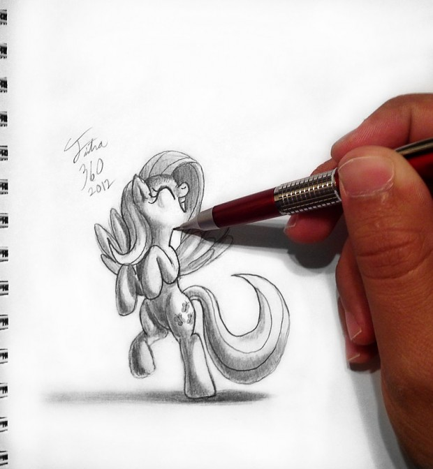 Drawn To Life - Fluttershy