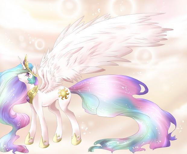 MLP:FiM Princess Celestia image - Bronies of Moddb™