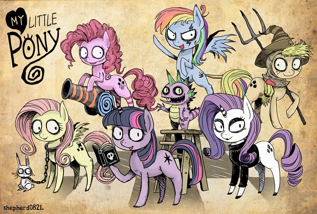 burton X my little pony
