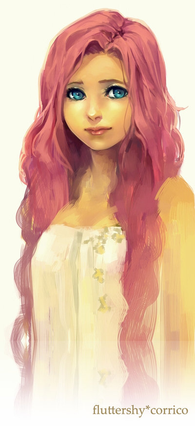Humanized Fluttershy