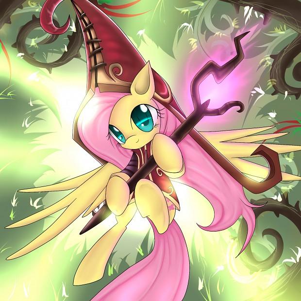 Fluttershy, the Fae Sorceress
