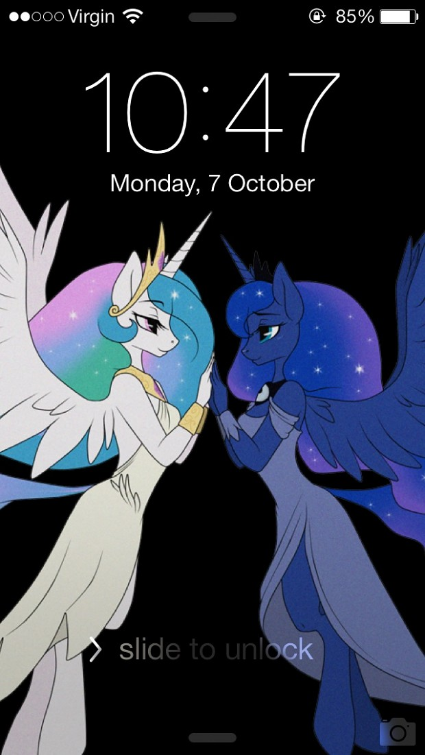 My iPhone 5 Locked Screen