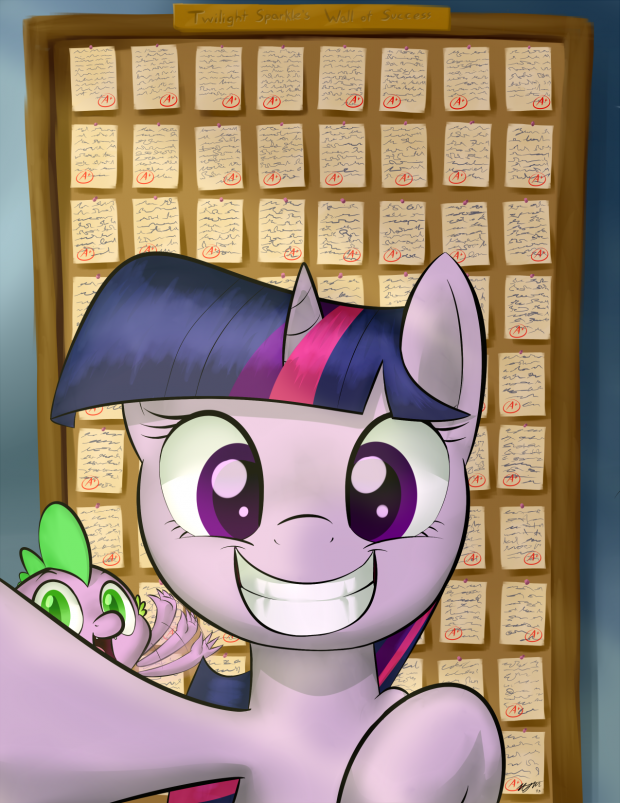 Twilights wall of success