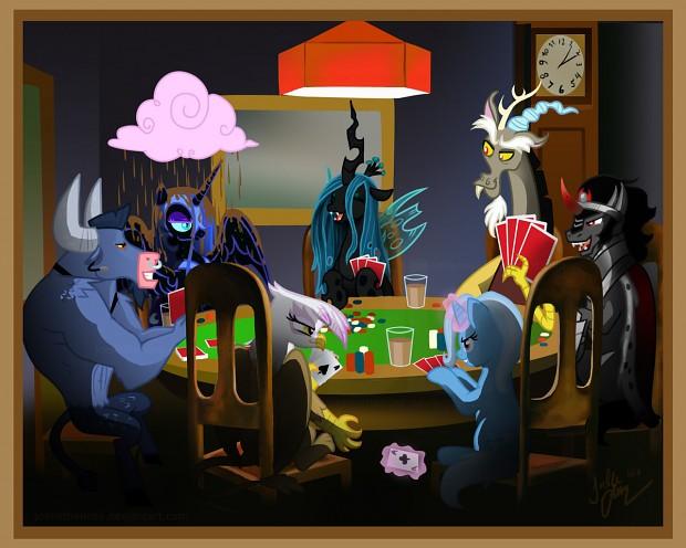 Poker whit discord