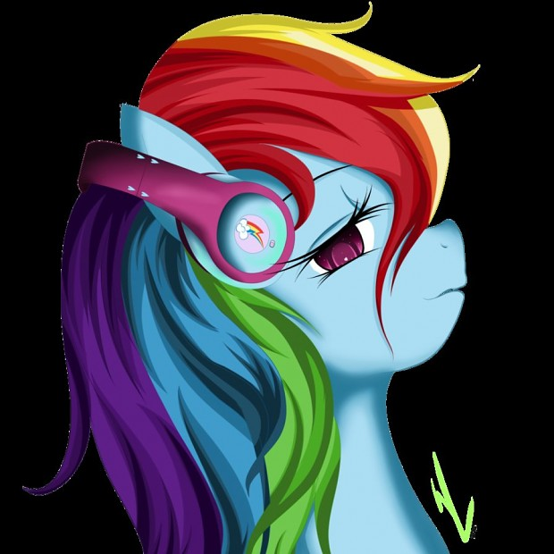 Rainbow's Headphone