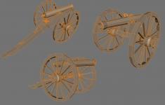 M1857 12-pounder Napoleon Cannons