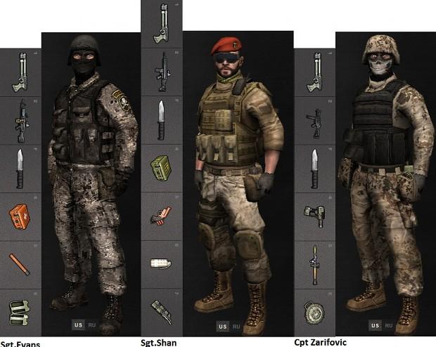 Sgt.Evans's Warriors