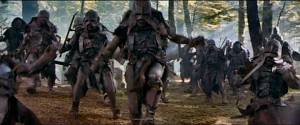 The troops of Isengard