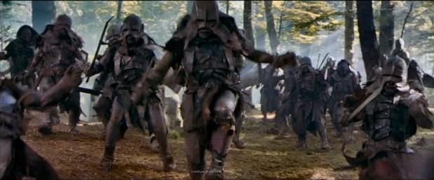 The troops of Isengard