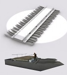 Floating bridge for Sedan