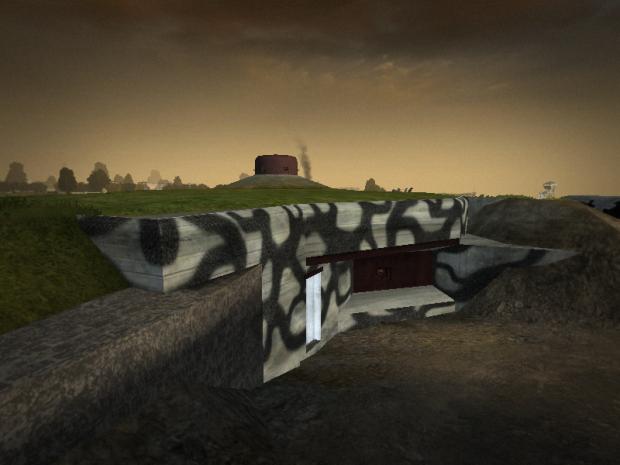 """Bunker """"Verdun"""" de la Festung de La Varde"""