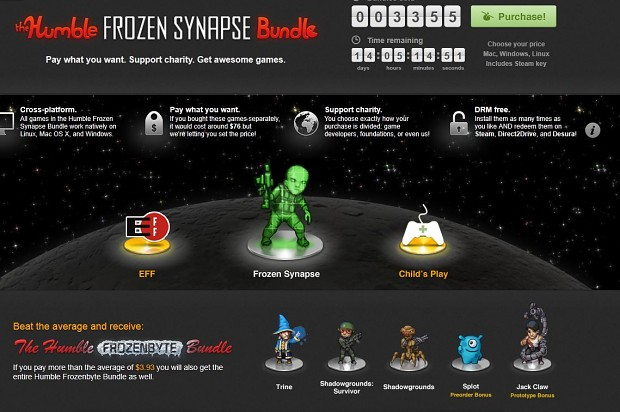Humble Frozen Synapse Bundle