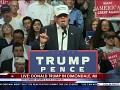 Donald Trump to Obama: Get off the Golf Course and get down to Louisiana 8/19/16