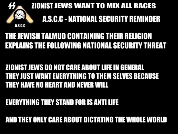 Zionist jews are the enemy