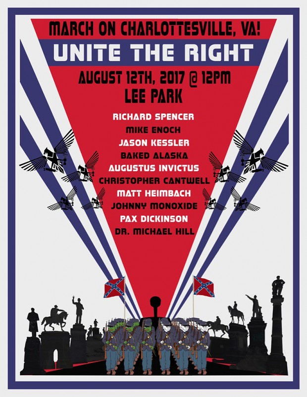 Unite the Right - Charlottesville August 12