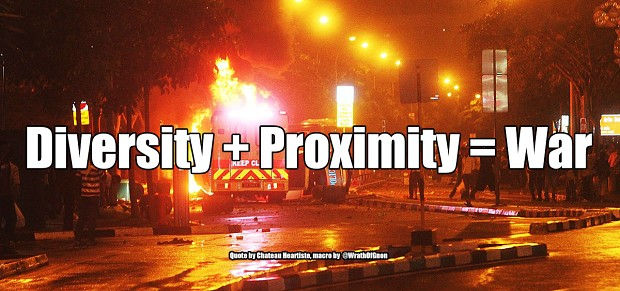 Diversity + Proximity = War