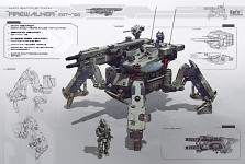 Advanced Walker: Artillery (AW-A)