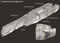 Vroaka-Class Heavy Frigate Carrier