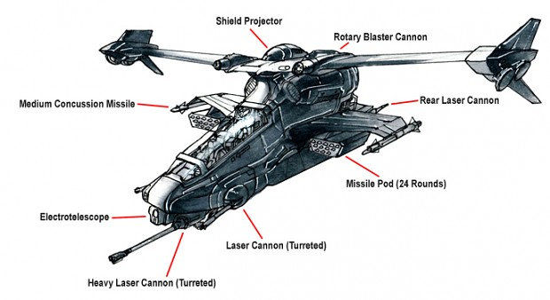 Reaver Gunship