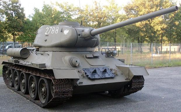 Советский Танк Т-34-85 - Фотографии Военной техники
