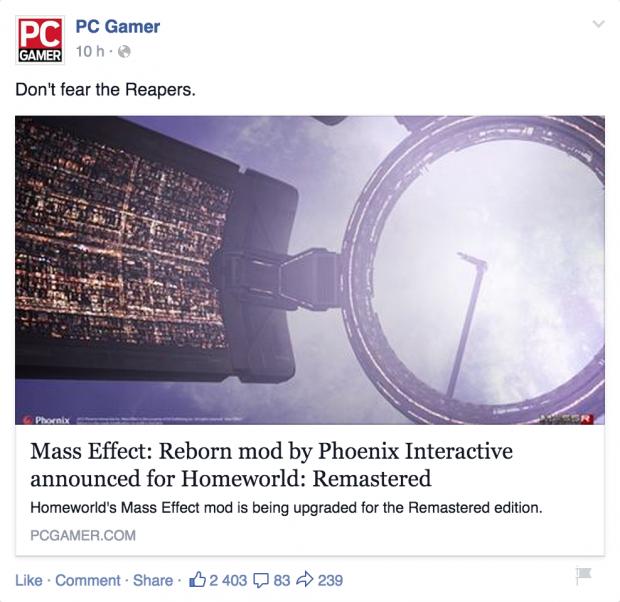 Mass Effect: Reborn on PC Gamer